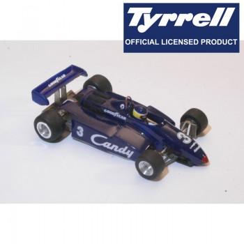 Tyrrell 011 Michele Alboreto