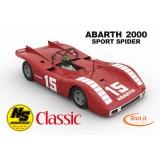 Fiat ABARTH 2000 KIT senza meccanica