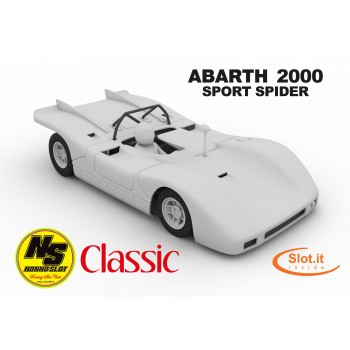 Fiat ABARTH 2000  White Body PREORDER