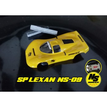 Yellow Lexan bodywork