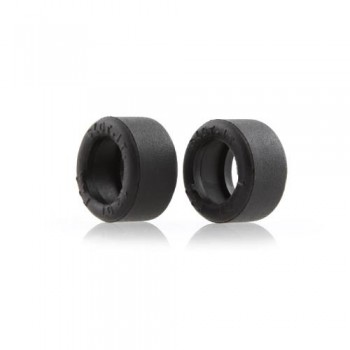 Trued rubber tires