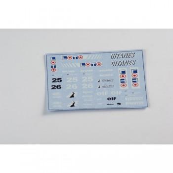 Decals 1:32 F1 Ligier