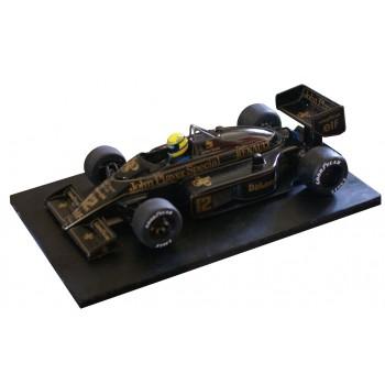 Lotus 98T Ayrton Senna
